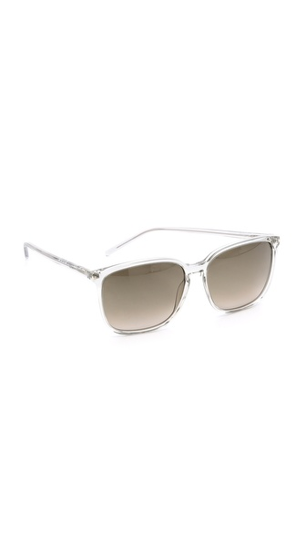 Saint Laurent Slim Square Sunglasses