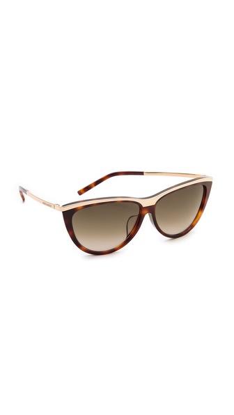 Saint Laurent Special Fit Cat Eye Sunglasses