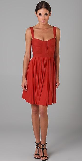 Zac Posen Short Flared Dress