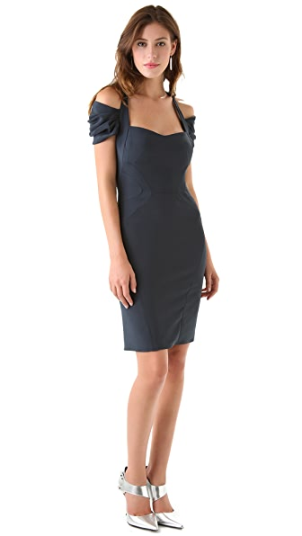 Zac Posen Short Sleeve Dress