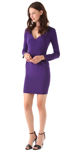 Zac Posen Long Sleeve Dress