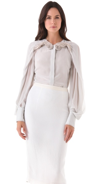 Zac Posen Silk Blouse