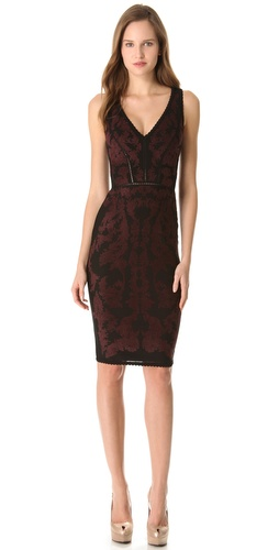 Zac Posen Bondage Jacquard Dress