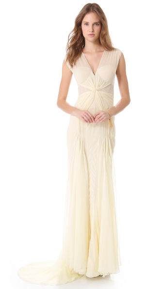 Zac Posen Sleeveless Gown