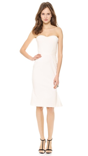 Zac Posen Strapless Jersey Dress