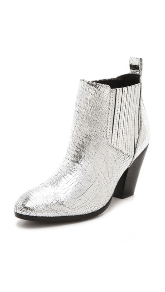 Zadig & Voltaire Jermaine Metallic Booties