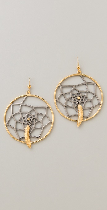 Amy Zerner Dream Catcher Earrings