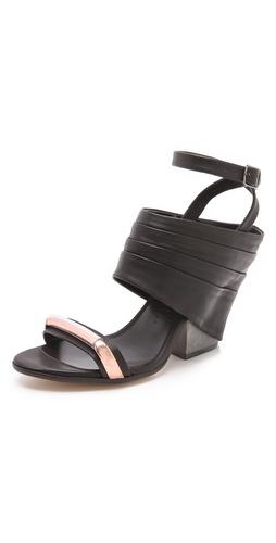 Zero + Maria Cornejo Iva Heeled Sandals