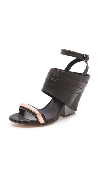 Zero + Maria Cornejo Iva Heeled Sandals