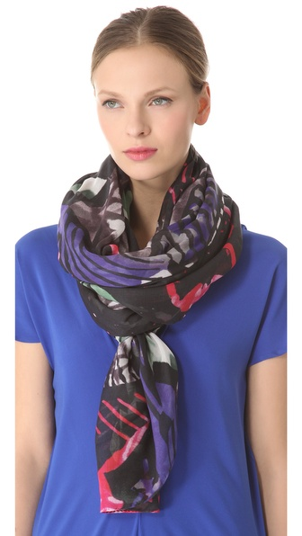 Zero + Maria Cornejo Wide Print Scarf