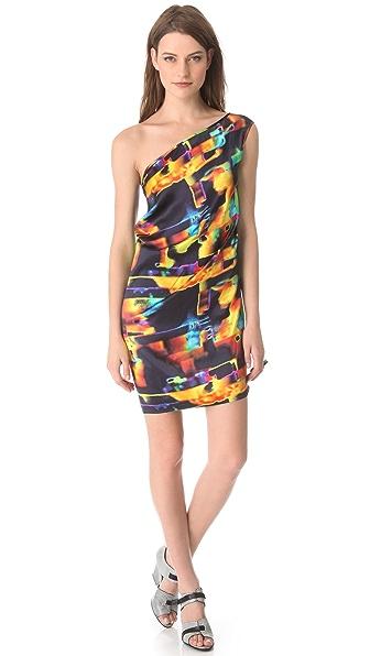 Zero + Maria Cornejo Kaleidoscope Toga Dress