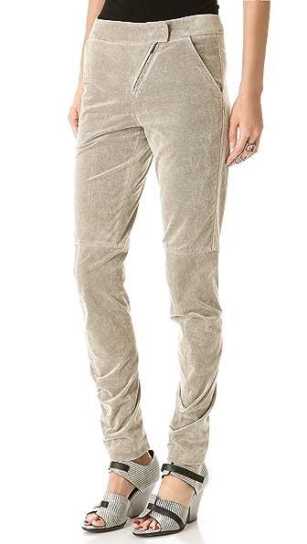 Zero + Maria Cornejo Curve Knee Pants