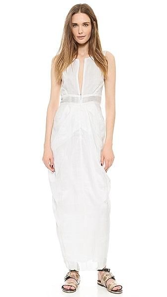 Zero + Maria Cornejo Lace Stripe Shreya Dress
