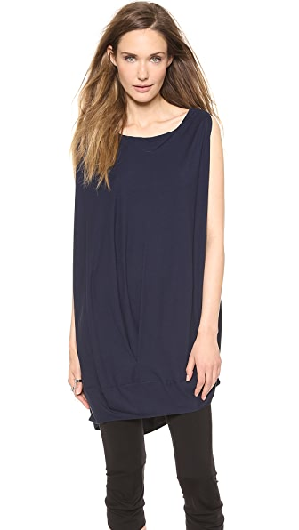 Zero + Maria Cornejo Off Shoulder Bubble Tunic