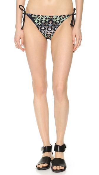 Zero + Maria Cornejo Moss Print Bikini Bottoms