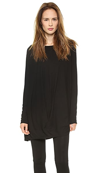 Zero + Maria Cornejo Long Sleeve Off Shoulder Tunic