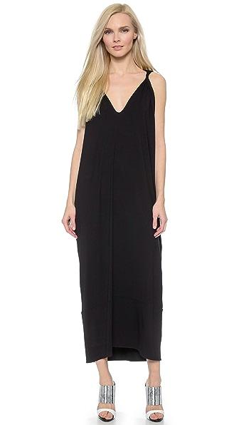 Kupi Zero + Maria Cornejo haljinu online i raspordaja za kupiti Zero + Maria Cornejo Long Hara Dress - Black online