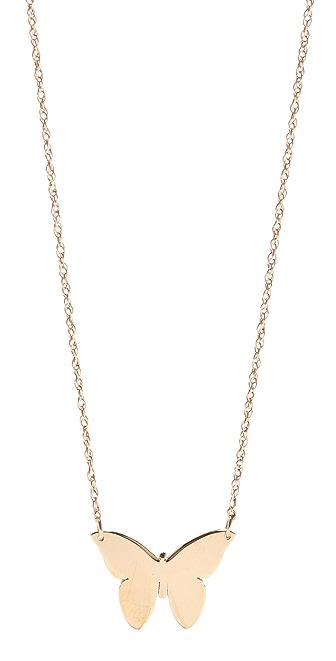 Jennifer Zeuner Jewelry Integrated Butterfly Necklace