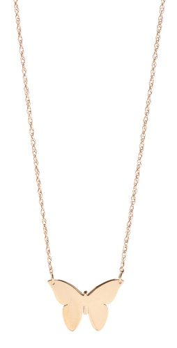 Shop Jennifer Zeuner Jewelry Integrated Butterfly Necklace and Jennifer Zeuner Jewelry online - Accessories,Womens,Jewelry,Necklace, online Store
