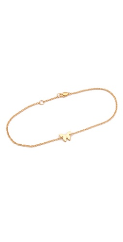 Shop Jennifer Zeuner Jewelry Butterfly Anklet and Jennifer Zeuner Jewelry online - Accessories,Womens,Jewelry,Anklet, online Store