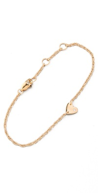 Jennifer Zeuner Jewelry Extra Small Heart Bracelet