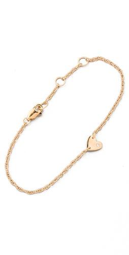 Jennifer Zeuner Jewelry Extra Small Heart Bracelet