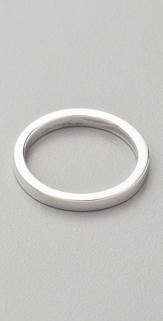 Jennifer Zeuner Jewelry Thin Band Ring