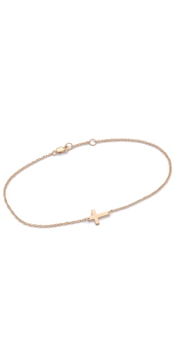Shop Jennifer Zeuner Jewelry Cross Anklet and Jennifer Zeuner Jewelry online - Accessories,Womens,Jewelry,Anklet, online Store