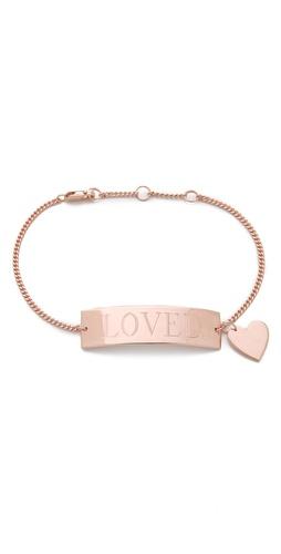 Jennifer Zeuner Jewelry Loved Bracelet