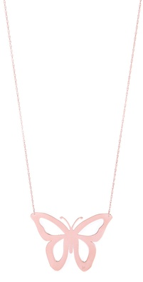 Jennifer Zeuner Jewelry Lani Cutout Butterfly Necklace