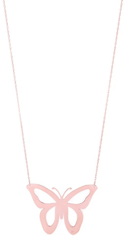Shop Jennifer Zeuner Jewelry Lani Cutout Butterfly Necklace and Jennifer Zeuner Jewelry online - Accessories,Womens,Jewelry,Necklace, online Store