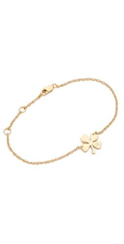 Jennifer Zeuner Jewelry Mini Clover Bracelet