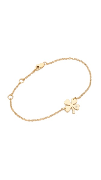 Jennifer Zeuner Jewelry Mini Clover Bracelet