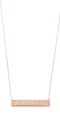 Jennifer Zeuner Jewelry Adored Necklace with Diamond