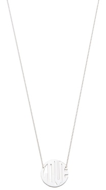 Jennifer Zeuner Jewelry Art Deco Love Necklace