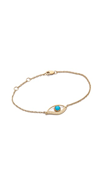 Jennifer Zeuner Jewelry Priscilla Mini Eye Bracelet