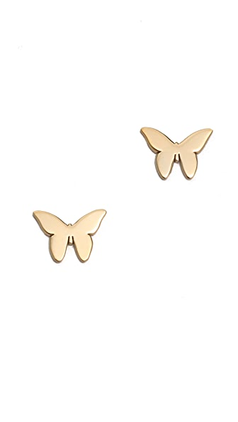 Jennifer Zeuner Jewelry Butterfly Earrings