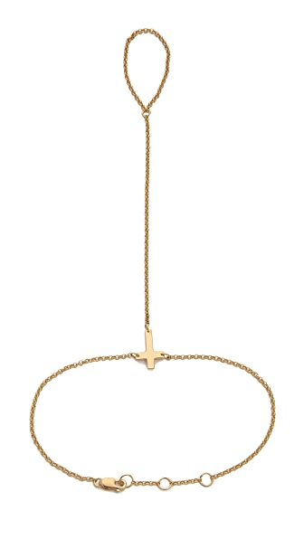 Jennifer Zeuner Jewelry Theresa Hand Chain