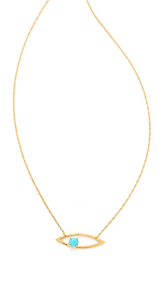 Jennifer Zeuner Jewelry Mila Horizontal Necklace