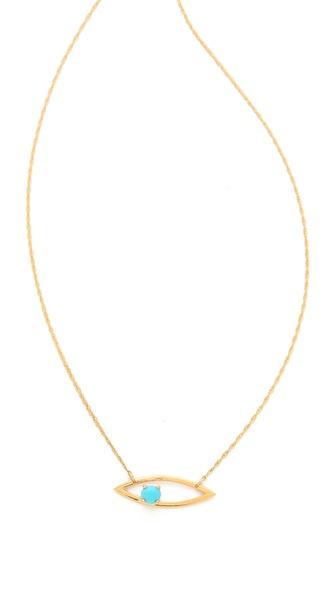 Jennifer Zeuner Jewelry Mila Horizontal Necklace