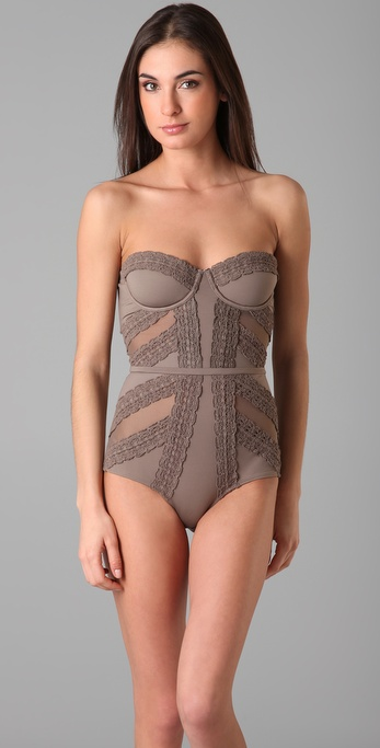 Zimmermann Whisper Underwire One Piece