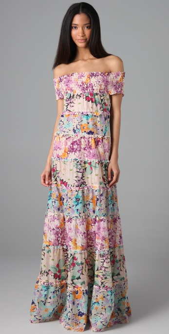 Zimmermann Posy Tiered Long Dress