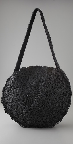 Zimmermann Circular Raffia Bag