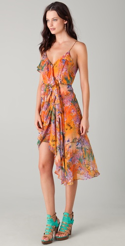 Zimmermann Rebellion Bluebird Drape Dress