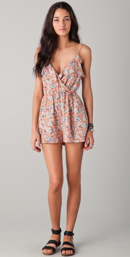 Zimmermann Rebel Frill Playsuit