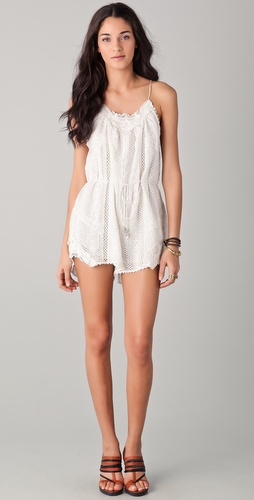 Zimmermann Devoted Lace Playsuit