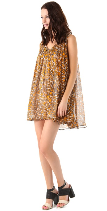 Zimmermann Bon Bon Printed Swing Dress