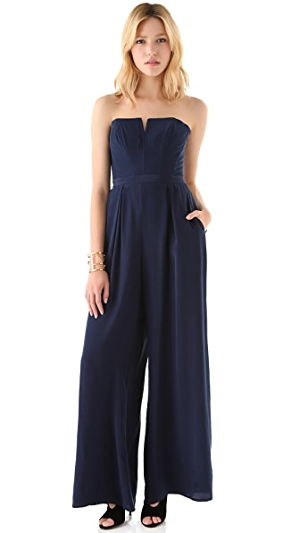 Zimmermann Lace Back Jumpsuit