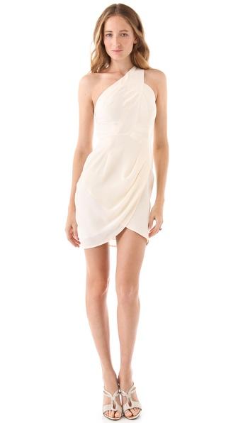 Zimmermann One Shoulder Dress