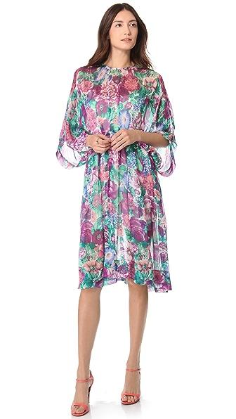 Zimmermann Tuck Floral Dress